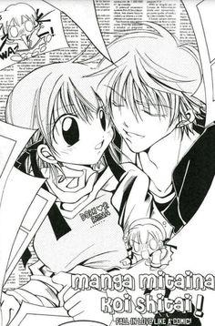 Chapter 2 ~ Fall in Love Like a Comic (Manga Mitaina Koi Shitai) manga - Tomoya & Rena