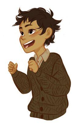 Little Nico di Angelo. He's soo cuuuuute *q*