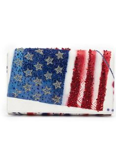 Shop Preciously 'American Flag' clutch in L'Eclaireur from the world's best independent boutiques at farfetch.com. Shop 300 boutiques at one address.