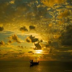 tags, clouds, vikings, seas, dreams, big sky, sunsets, ships, blues