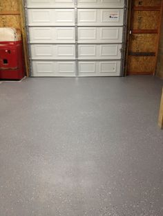 Behr 1 Part Epoxy Garage Floor Paint With Metallic Flakes From The Home  Depot $31 Gallon