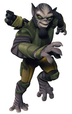 LASAT: Character Zeb Orrelios: Lasats were a humanoid sentient species native to the Outer Rim world of Lasan. They were nearly driven to extinction