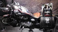 Lemmyn moottoripyörä esillä MP messuilla.   #mpmessut #mpmessut2016 #moottoripyörä #mprenkaat #mprenkaat-store  Moottoripyörän renkaat myy http://mprenkaat-store.com