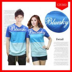 Fashion Baju Couple Bluesky Terlaris
