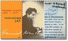 100. Geburtstag Hannah Arendt,