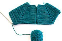 Guia de como tejer un sueter raglán a crochet paso a paso - Blog de marinatorreblanca.cl