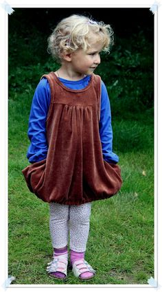 A cute tunic combination made from Ottobre 4/2012.