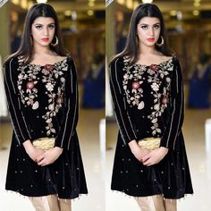 Hello hello! Such a pretty velvet shirt by Noor hamid at Melange make up by sobia mustapha and photography qamar Anwer