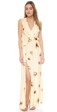Haute Hippie Wrap Front Dress | SHOPBOP