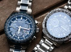 Seiko Astron GPS Solar Dual Time Watch Review | aBlogtoWatch G Shock Watches, Watches For Men, Wrist Watches, Seiko Sportura, Gadget Watches, Photovoltaic Cells, Watch Master, Herren Chronograph, Orient Watch