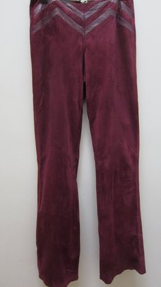 Suede  Leather Women's Pants by Nicolery on Etsy, $92.00