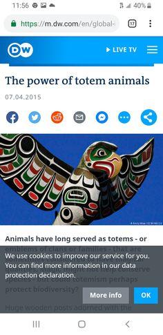 Totem Poles, Data Protection, Animal Totems, Live Tv, Totems