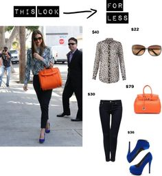 """""""This Look for Less Miranda Kerr"""" by dariaalimahmoodi ❤ liked on Polyvore"""
