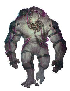 Monster Concept Art, Alien Concept Art, Creature Concept Art, Creature Design, Alien Creatures, Fantasy Creatures, Mythical Creatures, Space Opera, Dragons