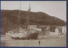 French Schooner Ashore Polkeris Voluntaire Paimpol Sank Off Trevose Head Sail   eBay