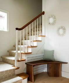 Traditional Interior Staircase