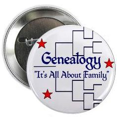"""Family Tree Chart 2.25"""" Button > """"It's All About Family"""" > Genealogy Store USA"""