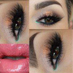 Love the false lashes