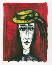 Bernard BUFFET : Le travesti Mourlot 1967