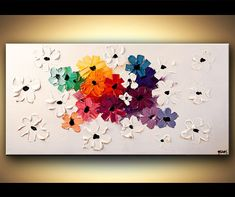 Modern Art Poster on Photographic Paper Summer by OsnatFineArt