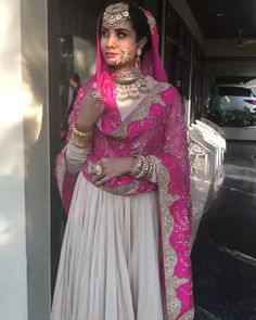 Best of the custom made Indian Groom and Bridal outfit Get your Customize Wedding Outfit - INTERNATI - 👗Luxury Clothing for Bride & Groom👫 📲: 📧: nivetasfashion worldwide shipping Source by - Indian Bridal Outfits, Indian Bridal Fashion, Pakistani Bridal Dresses, Pakistani Dress Design, Indian Designer Outfits, Pink Bridal Lehenga, Sabyasachi Lehenga Bridal, Bridal Anarkali Suits, Pakistani Fashion Party Wear