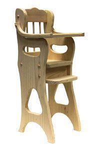 Doll High Chair Plan