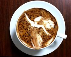 .·:*¨¨*:·.Coffee ♥ Art.·:*¨¨*>>>>>I like my coffee black, without…