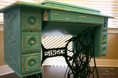 Would like to have an old sewing machine to use as a table.
