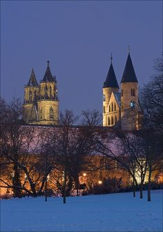 Magdeburg Cathedral and former abbey St Mary, Germany