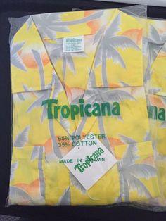 2 Vintage 1980s Tropicana Men's Hawaiian Shirts  by SylviasFinds