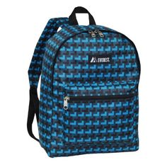 Everest Basic Pattern Backpack Blue One Size -- Be sure to check out this awesome product. Note:It is Affiliate Link to Amazon.