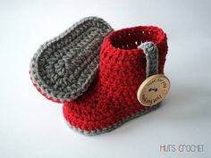 Free Pattern – Huts Amore Baby Boots
