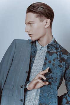 Dmitry at Established London photographed by Thang LV and styled by Hangna Sohn Koh with pieces from Gabicci, Carlo Volpi, Duck and Cover, Ashley Marc Hovelle, Topman and more, in exclusive for Fucking Young!... »