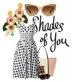 """""""Shades of You: Sunglass Hut Contest Entry"""" by bananya ❤ liked on Polyvore featuring Dolce&Gabbana, Dolce Vita, Coach, dolcegabbana, topset and shadesofyou"""
