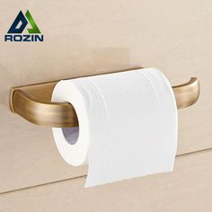 16.83$  Buy here - http://ali7q6.shopchina.info/go.php?t=2045412124 - Free Shipping Wholesale And Retail Antique Brass Toilet Roll Paper Rod Wall Mounted Bathroom Toilet Paper Holder  #aliexpressideas