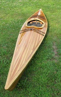 my cedar strip kayak