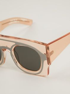 Shop Wanda Nylon 'keanu' Sunglasses from Tom Greyhound on Farfetch