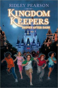 My 9 yr old loves Kingdom Keepers books. great for the Disney world fan!