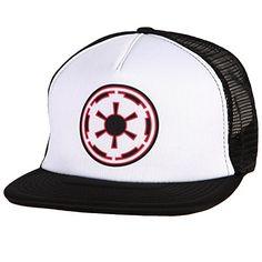 Star Wars Cap - Empire Logo Foam Mesh Trucker Hat //Price: $18.99 & FREE Shipping //     #starwarslife
