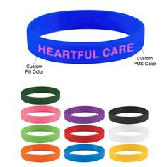 Whether it's for a coming of age party or benefit event, colorful bracelets are fun for all ages! We'll even make a glow in the dark print just for you- email sales@misterpromotion.com now!  Website: www.misterpromotion.com   Phone: 212-677-7666