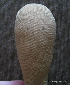 разметка лица и волос