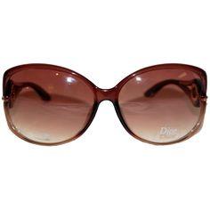 Couture Accessories, Christian Dior, Sunglasses, Detail, Brown, Design, Fashion, Moda, Fashion Styles