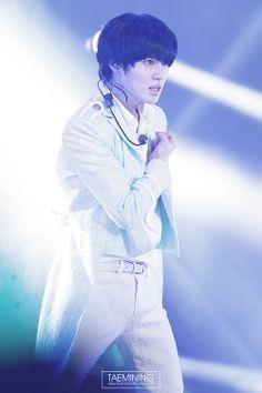 Taemin (SHINee) @ SHINee Festival Tour in HONGKONG 140126 ~ Source : http://taemining.com/