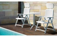 Nardi Aquamarina Collection for your outdoor Outdoor Balcony, Outdoor Lounge, Outdoor Chairs, Online Furniture, Home Furniture, Furniture Design, Outdoor Furniture, Sun Chair, Commercial Furniture