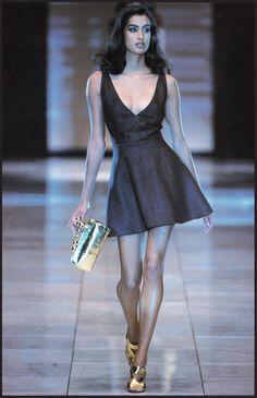 Yasmeen Ghauri / 1991 Gianni Versace Collezione Spring Summer / Lookbook