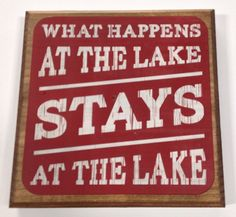 Lakehouse Sign