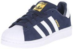 Amazon.com: adidas Originals Superstar J Casual Low-Cut Fashion Sneaker (Big Kid): Shoes