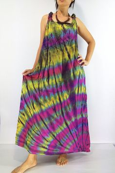 PTD25 Women Maxi Dress Gypsy Dress Rayon Dress by LuckyGirlShop