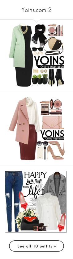 """""""Yoins.com 2"""" by oshint ❤ liked on Polyvore featuring BCBGMAXAZRIA, Lacoste, Charlotte Tilbury, Authentics, Ray-Ban, Charlotte Russe, Kendra Scott, yoins, Christian Louboutin and Tory Burch"""