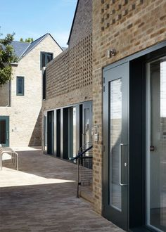 Foundry Mews housing and mixed-use architecture in Barnes, London, UK by Project Orange